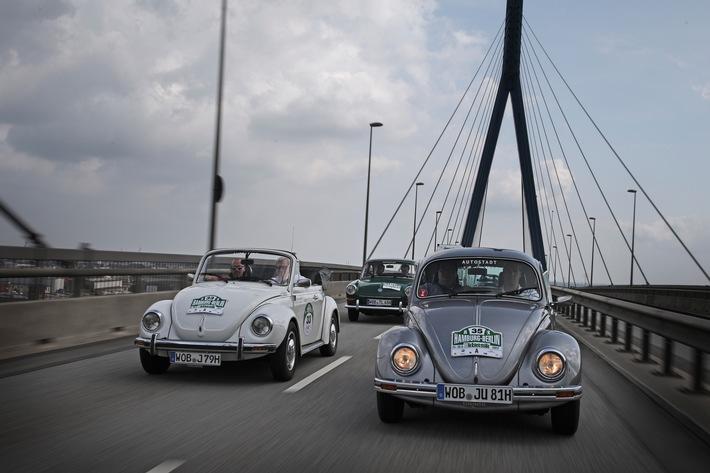 Auf geht's: 11. Hamburg-Berlin-Klassik schickt am Donnerstag 170 Oldtimer und Youngtimer auf Nordsee-Tour