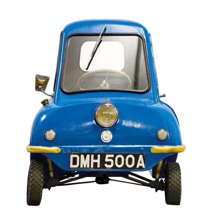 Motorworld Classics Berlin 2018: Das kleinste Auto der Welt auf der Oldtimer-Messe in Berlin