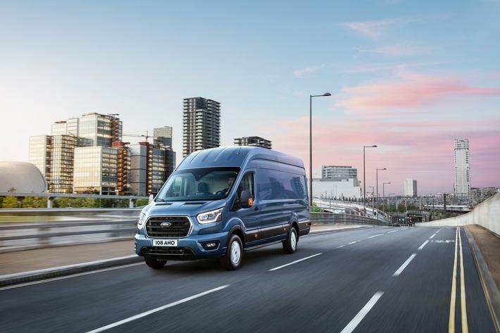 Nutzlast des neuen Ford Transit um bis zu 80 kg erhöht – auch dank Konstruktionssystemen aus Luft- und Raumfahrttechnik
