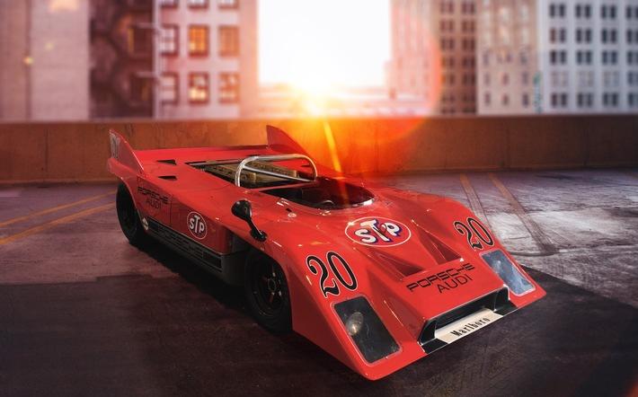 """Porsche-Rarität bei Online-Plattform für Oldtimer und Premiumfahrzeuge: """"Gapless"""" sucht gemeinsam mit Oldtimer-Händler neuen Besitzer für Porsche 917"""