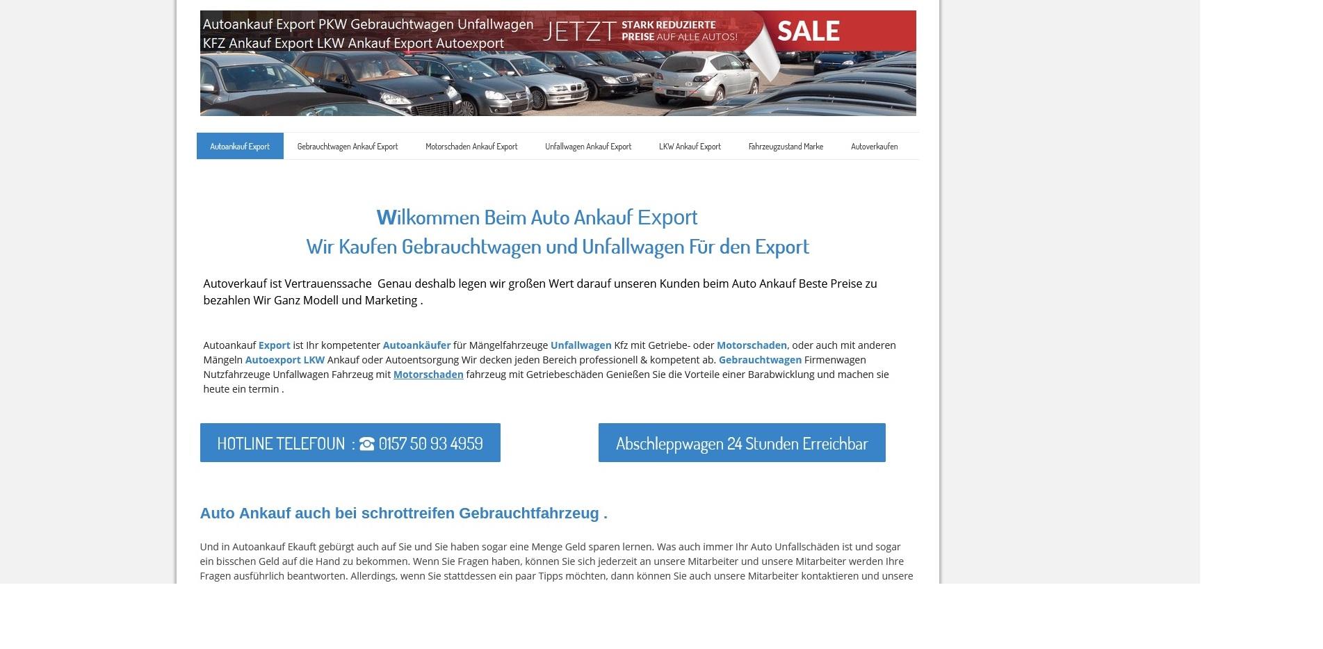 https://www.kfz-ankauf-export.de - Autoankauf Willich