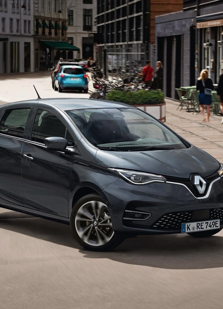 Renault Reloaded: ZOE wieder im ADAC e-Leasing ADAC SE hat den Renault ZOE E-Tech erneut im Elektroauto-Angebot Vorteile für Mitglieder bei Privatleasing und Finanzierung