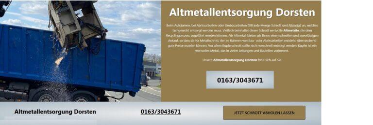 Altmetallentsorgung Hamm: Sorgen Sie dafür, dass Ihr Metallschrott recycelt werden kann …