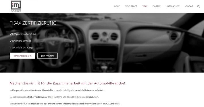 TISAX: Informationssicherheit für die Automobilbranche