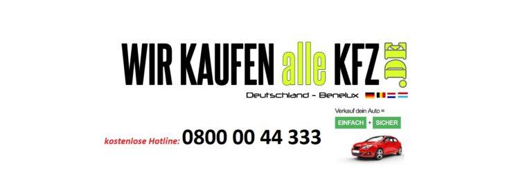Online KFZ-Ankauf für Thüringen – Bequemer Autoverkauf von Zuhause aus