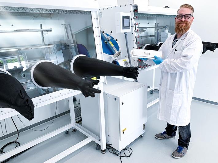 Blackstone Resources AG eröffnet eines der modernsten Entwicklungslabore für die Batterietechnik
